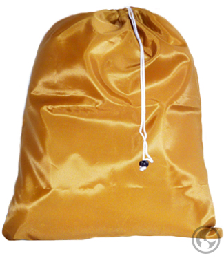 Medium Laundry Bag, Gold