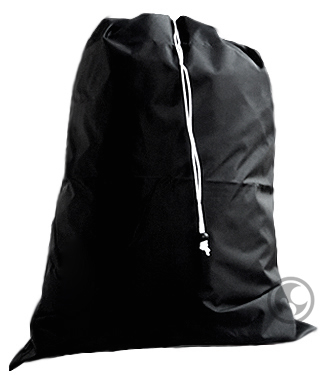 Black Laundry Bags, Large Size 30x40