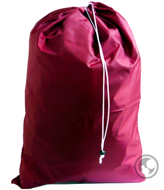 Laundry Bags, Burgundy Extra Large with Drawstring
