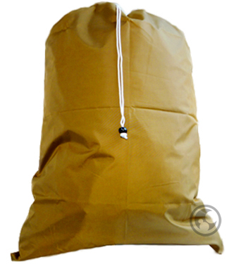 Extra Large Nylon Laundry Bag, Gold