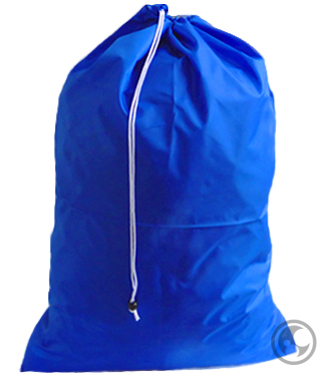 Large Nylon Laundry Bag, Royal Blue