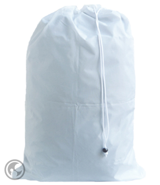 Large White Laundry Bags with Drawstring, 30x40