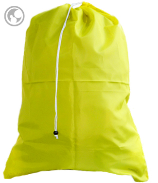 Laundry Bags, Extra Large Yellow with Drawstring