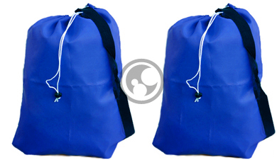 Our Large Laundry Bag Set Includes A 30x40 For Everyday Needs And Small 22x28 With Brass Metal Grommets