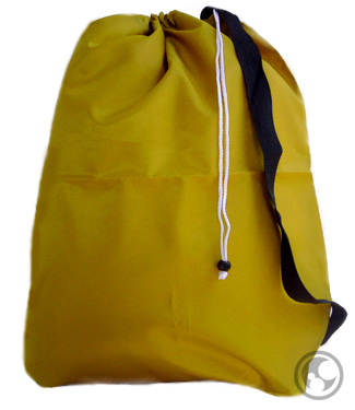 Large 30x40 Laundry Bags with Straps, Color: Gold