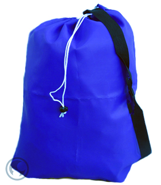 Strap Laundry Bag Royal Blue 30x40