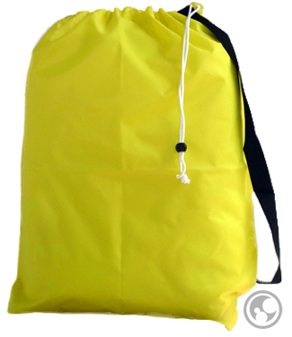 Medium Laundry Bag, Yellow